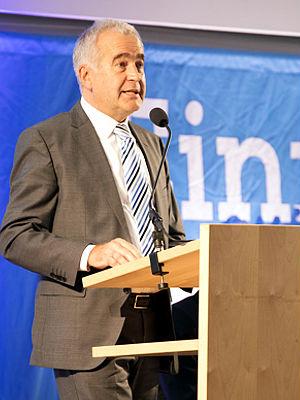 Vorstand Peter Pollich von der Raiffeisenbank im Donautal eG