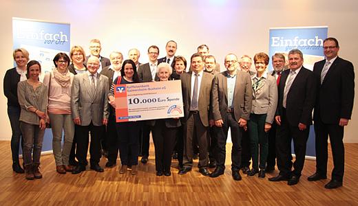 10.000 Euro Spende für soziale und karitative Einrichtungen in Wettstetten