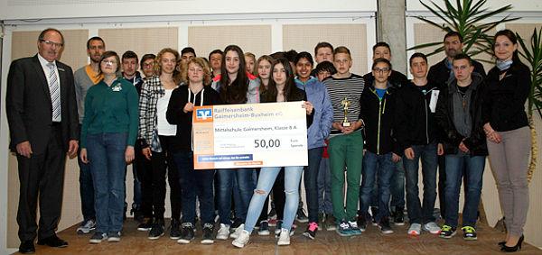 Mittelschule Gaimersheim, Klasse 8 a