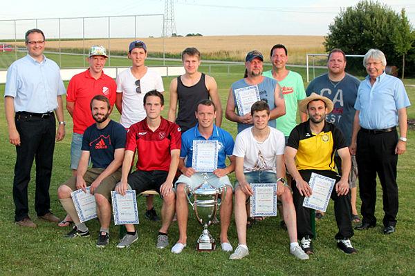 Die Sieger des Raiffeisen-Pokals 2014