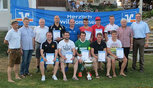 Die Sieger des Raiffeisen-Pokals 2015